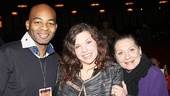 Gypsy judges Brandon Victor Dixon, Mary Bridget Davies and Graciela Daniele take in the celebratory scene.