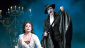 Mary Michael Patterson as Christine & Hugh Panaro as The Phantom in The Phantom of the Opera. Photo by Joan Marcus