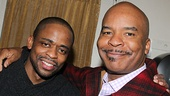 After Midnight star Dulé Hill and David Alan Grier catch up backstage.