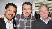 All the Way's Brandon J. Dirden with Bryan Cranston & Michael McKean