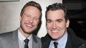 Smash co-stars Will Chase & Brian d'Arcy James