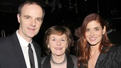 Outside Mullingar stars Brían F. O'Byrne & Debra Messing with Brían's mom Nancy O'Byrne