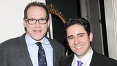 Cafe Carlyle entertainment director Jeff Resnick with John Lloyd Young