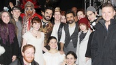 The cast of Natasha, Pierre and the Great Comet of 1812 rallies around new Cinderella star Carly Rae Jepsen.