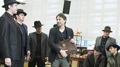 Bullets Over Broadway - Meet and Greet - OP - Zach Braff - Cast