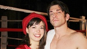 Rocky stars Margo Seibert and Andy Karl.