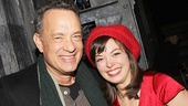 Tom Hanks poses with Rocky's Margo Seibert.