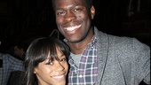 Nikki M. James and Kyle Scatliffe bond during the event.