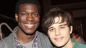 Les Miserables - Media Day - OP - Kyle Scatliffe - Andy Mientus