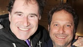Stage and screen star Richard Kind takes a snapshot with Sh-K-Boom Records founder Kurt Deutsch.