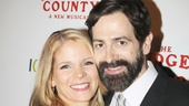 Bridges star Kelli O'Hara's husband Greg Naughton cheers her on.