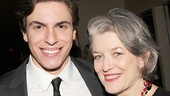 Stars Derek Klena and Cass Morgan take a photo opportunity.
