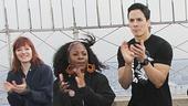 Stomp - Empire State Buidling - Anniversary - OP - Penelope Wendtlandt - Fiona Wilkes - John Angeles - Jason Mills - Dustin Elsea - Manny Osoria