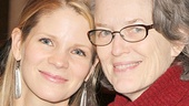 Kelli O'Hara and Cass Morgan snap a picture-perfect photo.