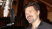 Hunter Foster pours his heart out in the booth.