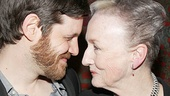 Michael Esper and Kathleen Chalfant share a sweet moment after the show.