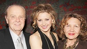 Tony winner Nina Arianda is thrilled to have her proud parents by her side on opening night.