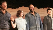 Of Mice and Men - Preview Curtain Call - OP - 3/14 - Jim Parrack - Leighton Meester - Chris O'Dowd - James Franco