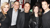 Orfeh, Tony Danza, Billy Crystal, his wife Janice and Andy Karl take a very starry snapshot!