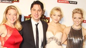 Bullets stars Marin Mazzie, Zach Braff, Betsy Wolfe and Helene Yorke look glamorous on opening night.