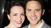 Act One star Santino Fontana with his girlfriend Jessica Hershberg.