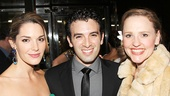 Kelli Barrett with Beautiful stars Anika Larsen and Jarrod Spector.