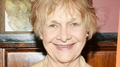 The Velocity of Autumn star Estelle Parsons arrives at Sardi's for the post-show party.
