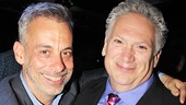 Casa Valentina director Joe Mantello with playwright Harvey Fierstein.