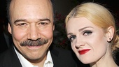 Danny Burstein and Gayle Rankin (Fraulein Kost).