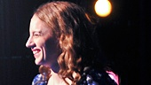 Bravo! Jessie Mueller smiles at the cheering crowd before taking her bow.