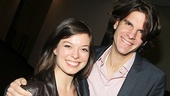 Rocky star Margo Seibert and director Alex Timbers.