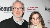The Realistic Joneses headliner Tracy Letts and his wife, actress Carrie Coon.