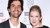 Much Ado About Nothing stars Hamish Linklater and Lily Rabe.