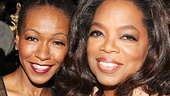 After Midnight - backstage - OP - 5/14 - Dormeshia Sumbry-Edwards - Oprah Winfrey