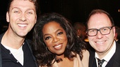 After Midnight - backstage - OP - 5/14 - Warren Carlyle - Oprah Winfrey -  Scott Sanders