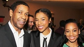 A Raisin in the Sun stars Denzel Washington, Sophie Okonedo and Anika Noni Rose take a sweet snapshot.