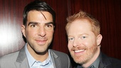 The Glass Menagerie's Zachary Quinto hangs out with Drama League host Jesse Tyler Ferguson.