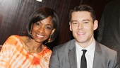 After Midnight's Adriane Lenox and The Glass Menagerie's Brian J. Smith.