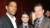 Drama Desk Awards - Op - 5/14 - Denzel Washington - Daniel Radcliffe - Bryan Cranston