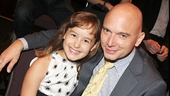 Fun Home alums Sydney Lucas and Michael Cerveris reunite!