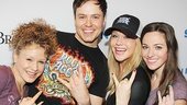 "Rock of Ages stars Josephine Rose Roberts, Aaron C. Finley, Carrie St. Louis and Alyssa Herrara have ""Nothing But a Good Time"" at Stars in the Alley."