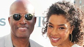 A Raisin in the Sun and Holler If Ya Hear Me director Kenny Leon with his Tony-nominated leading lady Sophie Okonedo.