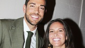FIrst Date alum Zachary Levi with his sister Shekinah.