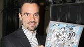 Les Miz star Ramin Karimloo adds his signature.