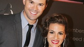 Jersey Boys alums Andrew Rannells and Renee Marino catch up—Marino plays Mary Delgado in the new film.