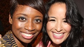Tony nominee Montego Glover and Aladdin star Courtney Reed.