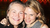 The Glass Menagerie reunion! Cherry Jones catches up with her friend and former co-star Celia Keenan-Bolger.