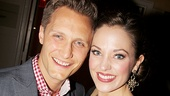 Laura Osnes takes a sweet snapshot with her husband Nathan Johnson.