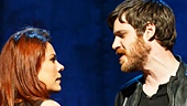 Rachel Tucker as Meg Dawson & Michael Esper as Gideon Fletcher in The Last Ship (Photo by Joan Marcus)