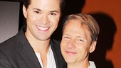 Andrew Rannells with Hedwig co-creator and original star John Cameron Mitchell.